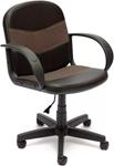Офисное кресло  Tetchair  BAGGI (кож/зам/ткань, черный/бежевый, 36-6/12)