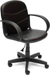 Офисное кресло  Tetchair  BAGGI (кож/зам, черный, 36-6)