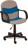 Офисное кресло  Tetchair  BAGGI (ткань, серый/синий, С27/С24)