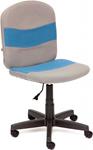Офисное кресло  Tetchair  STEP (ткань, серый/синий, С27/С24)