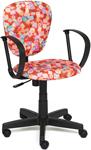 Офисное кресло  Tetchair  СН413 (ткань, принт ``Марки``)