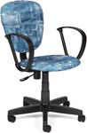 Офисное кресло  Tetchair  СН413 (ткань, ``Джинса``)