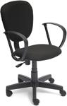 Офисное кресло  Tetchair  СН413 (ткань, черный, NF 2603)