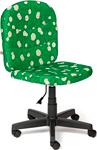 Офисное кресло  Tetchair  STEP (ткань, принт ``Ромашки на зеленом``)