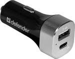 Зарядное устройствo для мобильных телефонов, планшетов, ноутбуков  Defender  UCG-01 1 порт USB TypeC 83569