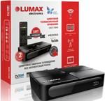 Цифровой телевизионный ресивер  Lumax  DV 2118 HD