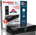 Цифровой телевизионный ресивер  Lumax  DV 3203 HD