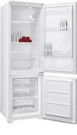 Встраиваемый двухкамерный холодильник  Shivaki  BMRI-1774