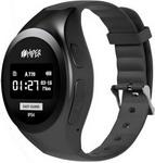 Детские часы с GPS поиском  Hiper  EasyGuard BLACK (EG-01 BLK)