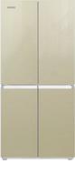 Многокамерный холодильник  Ginzzu  NFK-425 шампань