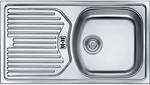Кухонная мойка  FRANKE  ETN 614 3.5`` обор, пер, б/вып 101.0060.164