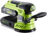 Эксцентриковая шлифовальная машина  Greenworks  G 24 ROS 3100107