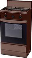 Газовая плита  Лада  GP 5203 Br коричневый