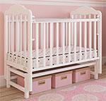 Детская кроватка  Giovanni  Classico White GC 12501 120*60