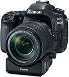 Фотоаппарат  Canon  EOS 80 D Body черный