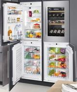 Встраиваемый холодильник Side by Side  Liebherr  SBS IKP 1660-20 + EWTdf 1653-20 + IGN 1664-20 + SIBP 1650-20