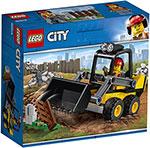 Конструктор  Lego  Строительный погрузчик 60219 City Great Vehicles