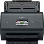 Сканер  Brother  ADS 3600 W (ADS 3600 WUX1), Black