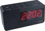 Радиоприемник и радиочасы  Hyundai  H-RCL 200 черный