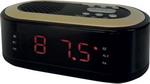 Радиоприемник и радиочасы  Hyundai  H-RCL 230 черный
