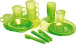 Посуда для отдыха на природе и туризма  Forester  C 813 на 6 персон в чехле