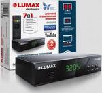 Цифровой телевизионный ресивер  Lumax  DV 3205 HD черный