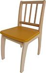 Стол и стул  Geuther  Bambino 2420 NAGY, натуральный/желтый