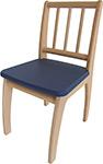 Стол и стул  Geuther  Bambino 2420 NAGK, натуральный/синий
