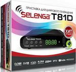 Цифровой телевизионный ресивер  Selenga  T 81 D
