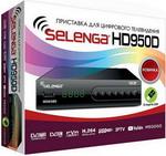 Цифровой телевизионный ресивер  Selenga  HD 950 D