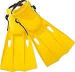 Летняя игрушка  Intex  ``Small Swim Fins`` р.38-40, желтый 55937