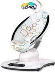 Электрокачели  4moms  MamaRoo 4.0 мультиплюш + вкладыш для новорожденного в подарок