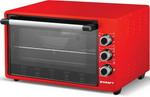 Электропечь  Kraft  KF-MO 3201 R красный