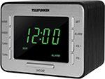 Радиоприемник и радиочасы  Telefunken  TF-1508 (черный c зеленым)