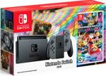 Игровая приставка  Nintendo  Switch (серый) Mario Kart 8 Deluxe
