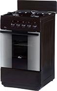 Комбинированная плита  Flama  RK 2201В коричневый