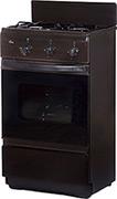 Газовая плита  Flama  CG 32010 B коричневый