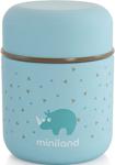 Посуда для детей  Miniland  Silky Thermos Mini, цвет голубой, 280 мл 89244