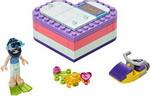 Конструктор  Lego  Friends 41385 Летняя шкатулка-сердечко для Эммы