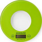 Кухонные весы  GoodHelper  KS-S03 зеленые