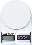 Кухонные весы  GoodHelper  KS-S01, белый