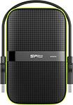 Внешний жесткий диск (HDD)  Silicon Power  HDD 2.5`` 1.0Tb Armor A60 (SP010TBPHDA60S3K)