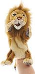 Мягкая игрушка  Hansa Creation  Лев, игрушка на руку 4041