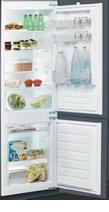 Встраиваемый двухкамерный холодильник  Indesit  BIN 18 A1 DIF