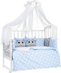 Комплект постельного белья  Sweet Baby  Uccellino Blu (Голубой), 7 пр. 424 463