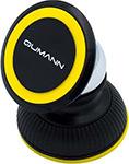 Автомобильный держатель  Qumann  QHP-01 Panel универс. 3-5,5`` 360 магнитный чёрн/жёлт 30112