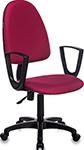 Офисное кресло  Бюрократ  CH-1300N/CHERRY бордовый