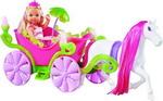 Кукла  Simba  Еви в карете и лошадь, 12см 5735754