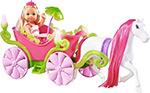 Кукла  Simba  Еви-принцессы и лошадь с каретой, 12 см./25 см. 5736646