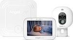 Видео и радионяня  Angelcare  AC527, белая, с беспроводным монитором движения, 5`` LCD дисплей